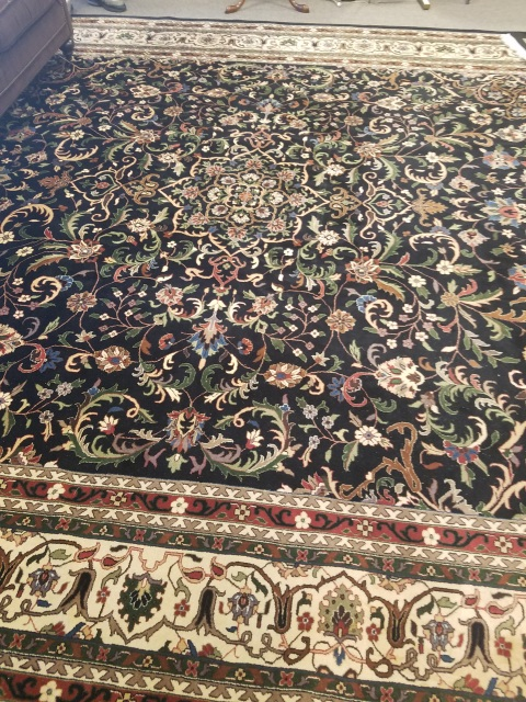 Large Hand Knotted Rug